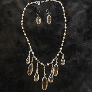 Carolee Necklace and earrings set